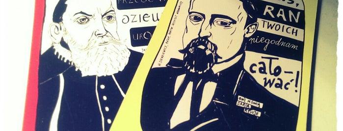 Sklep z cytatami. Oni mówią Daria rysuje is one of Poznan!.