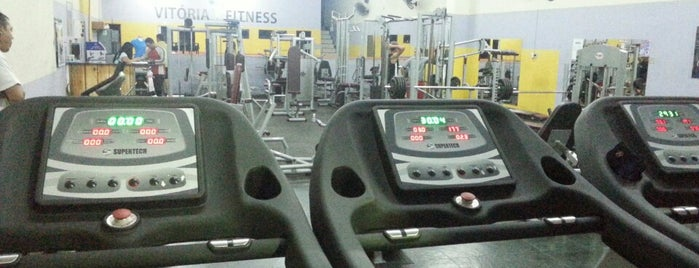 Academia Vitória Fitness is one of Bons.