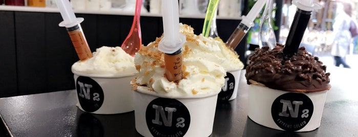 N2 Extreme Gelato is one of S.F 님이 저장한 장소.