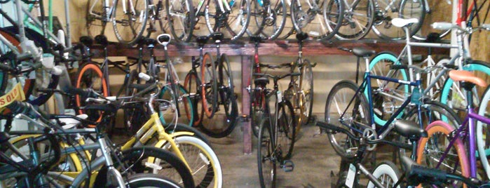 The Bicycle Broker is one of Bicycles.