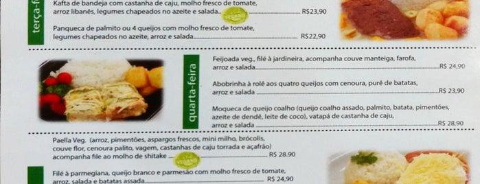 Cereal Brasil Restaurante Natural is one of Sampa Veggie.