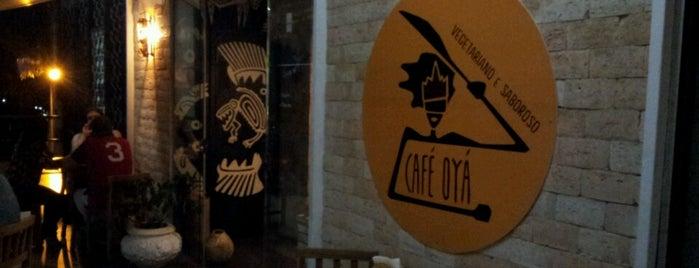 Café Oyá is one of Brasília Veggie.