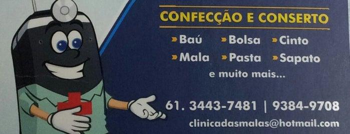 Clínica das Malas & Sapataria is one of Serviços @ Brasília.