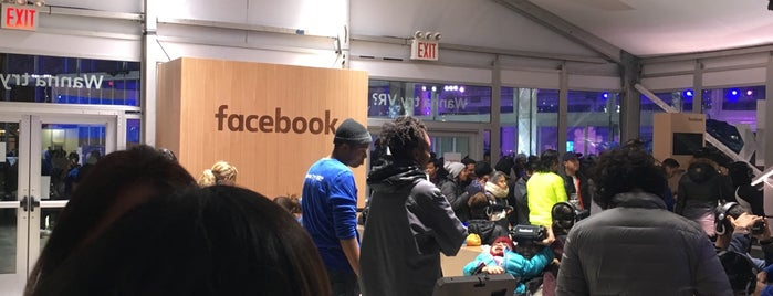 Facebook VR Pop-Up is one of To do NYC.