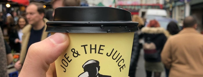 JOE & THE JUICE is one of London.