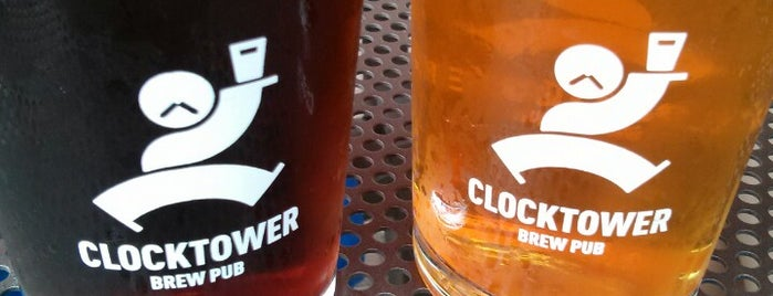 Clocktower Brew Pub is one of Lieux qui ont plu à Alan.