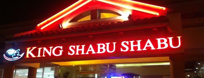 King Shabu Shabu is one of Two Puffs in the South Bay.