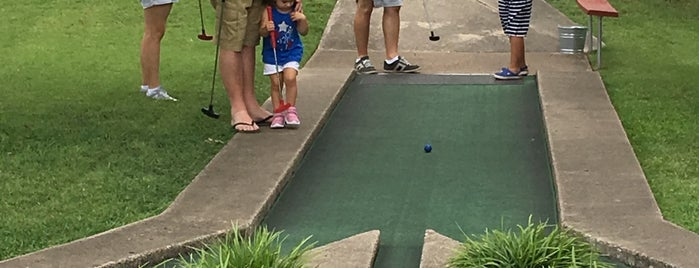 Hidden Valley Miniature Golf is one of Texas.