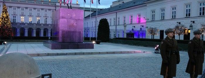 Pałac Prezydencki is one of Lugares favoritos de 83.