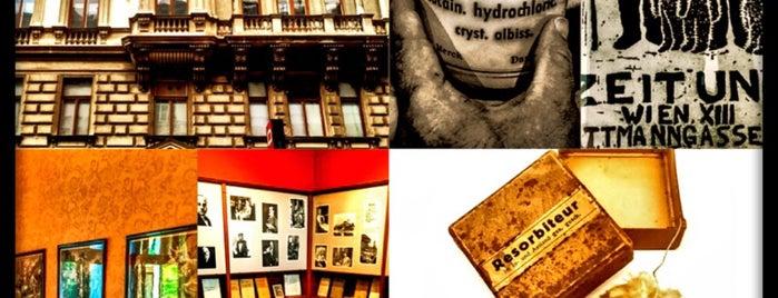 Sigmund Freud Museum is one of Lugares favoritos de 83.