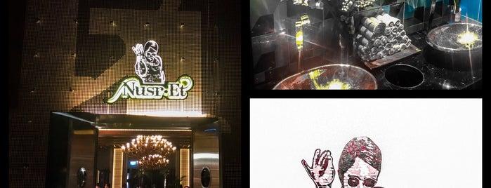 Nusr-Et Steakhouse Doha is one of Posti che sono piaciuti a 83.