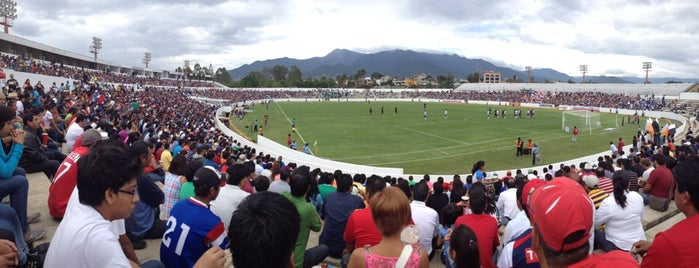 Estadio Benito Juarez is one of outsiders....