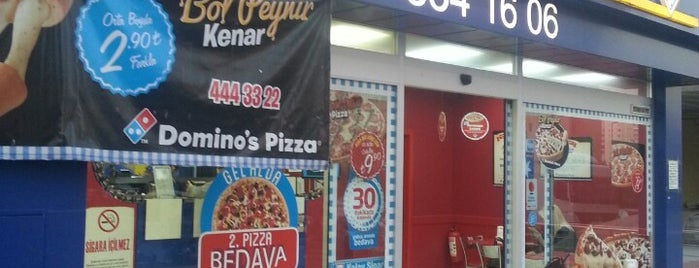Domino's Pizza is one of Yurt.