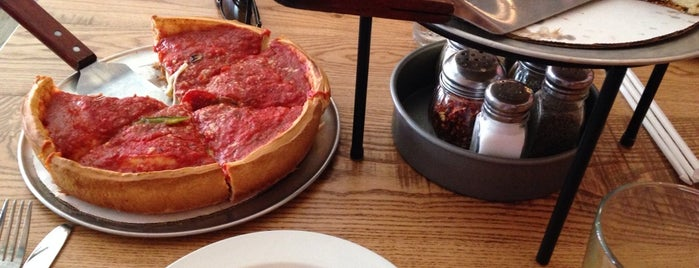 Giordano's is one of Chicago.