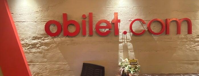 oBilet HQ is one of สถานที่ที่ Emre ถูกใจ.