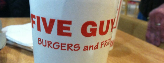 Five Guys is one of Lugares guardados de S..
