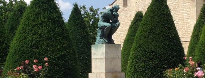 Jardin du Musée Rodin is one of Paris.