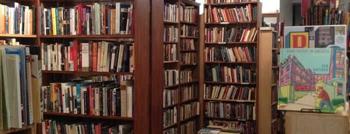 Unnameable Books is one of Best Independent Bookstores of NYC.
