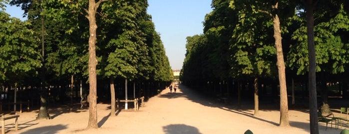 Jardin des Tuileries is one of Paris.