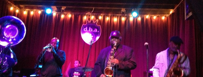 d.b.a. is one of New Orleans.