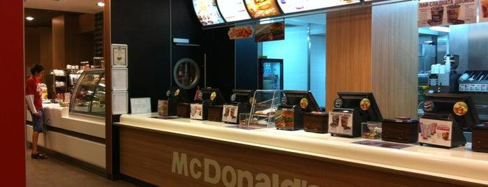 McDonald's is one of Lugares favoritos de Pete.