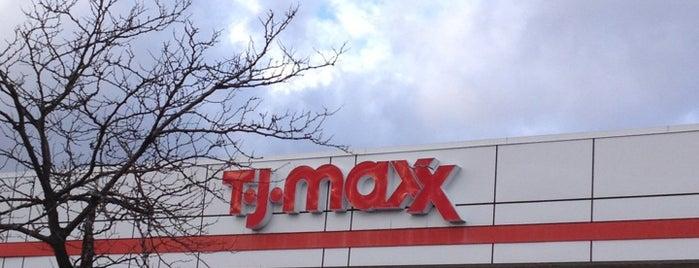 T.J. Maxx is one of Tempat yang Disukai Kevin.