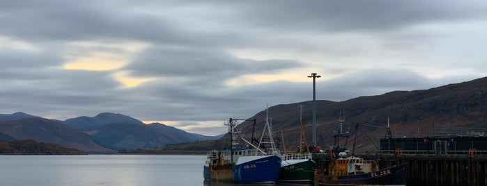 Ullapool Pier is one of Scotland.