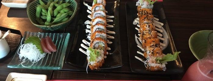 Sushi Nobu is one of สถานที่ที่ Lisa ถูกใจ.