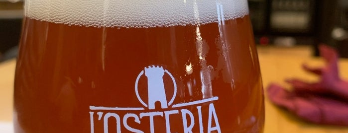 L'Osteria di Birra del Borgo is one of Rome Drinks.