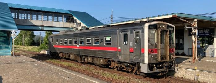 Kiyosatochō Station is one of JR 홋카이도역 (JR 北海道地方の駅).