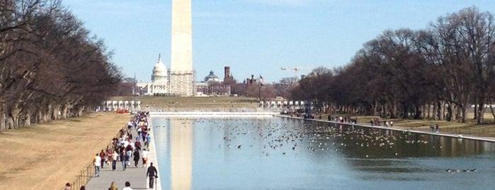National Mall is one of Washington D.C..