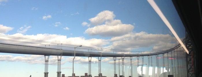 George Washington Bridge is one of Marvel Comics NYC Landmarks.
