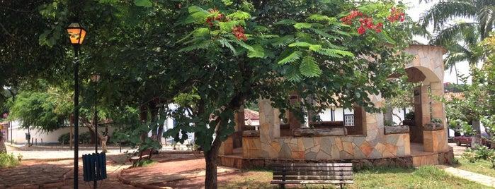 Praça Coronel Chico de Sá (Coreto) is one of Goiás Velho e Pirenópolis.