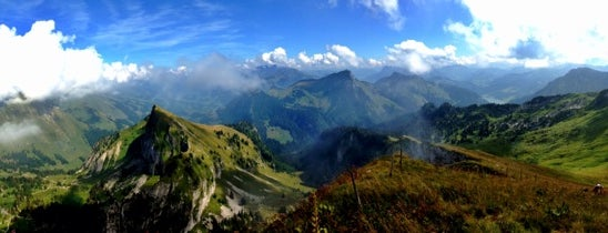 Rochers de Naye is one of Switzerland 2014.