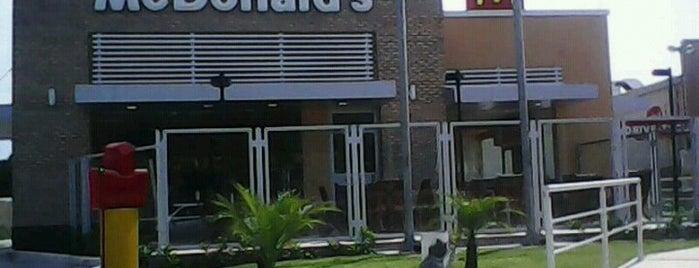 McDonald's is one of Tempat yang Disimpan Dhyogo.