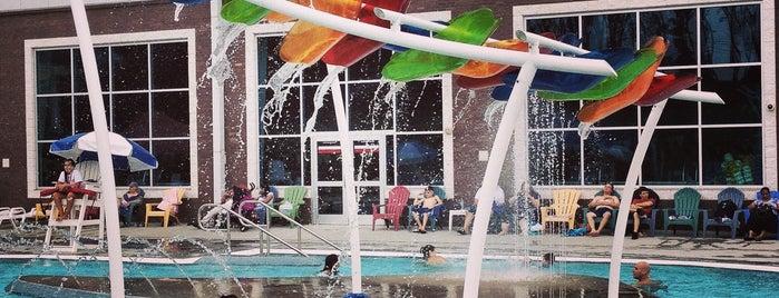 Cumming Aquatic Center is one of Tempat yang Disukai Deborah.