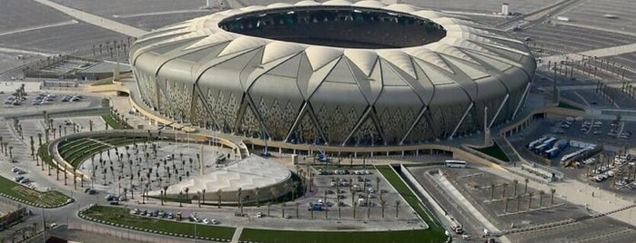 King Abdullah Sports City is one of Posti che sono piaciuti a Waleed.