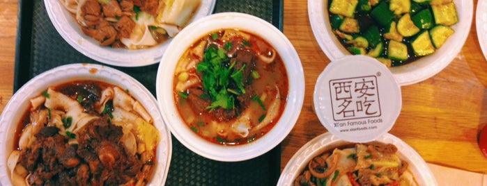 Xi'an Famous Foods 西安名吃 is one of Chinatown for the Win.