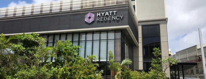 Hyatt Regency Naha Okinawa is one of Lieux qui ont plu à Albert.