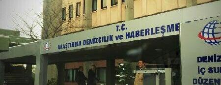 T.C. Ulaştırma Denizcilik ve Haberleşme Bakanlığı is one of Tempat yang Disukai Burak.
