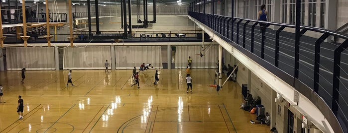 Student Recreation Center is one of ouro.