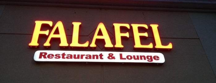 Falafel Moroccan Restaurant is one of สถานที่ที่ Estefania ถูกใจ.