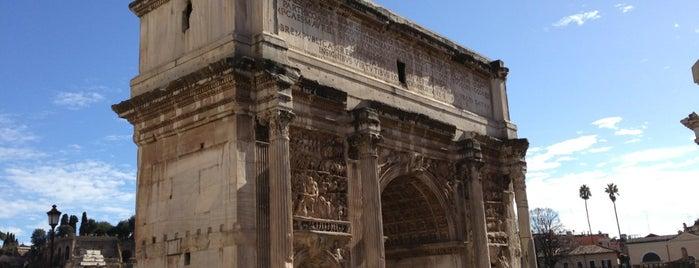 Arco di Settimio Severo is one of Rome / Roma.