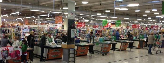 Globus Hypermarket is one of Tempat yang Disukai Katerina.