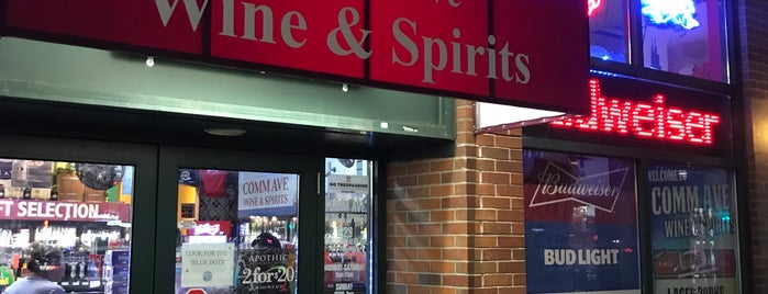 Comm Ave. Wine & Spirits is one of Bully Boy in Boston.