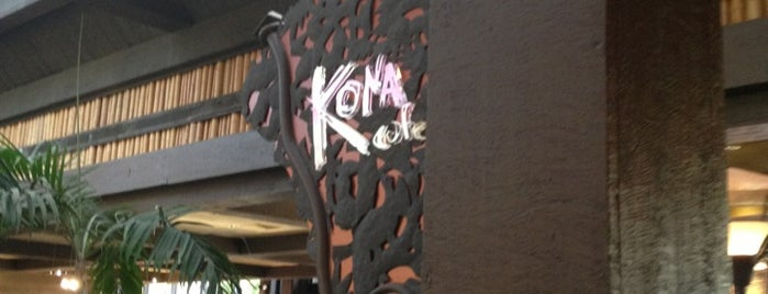 Kona Café is one of Disney Musts.
