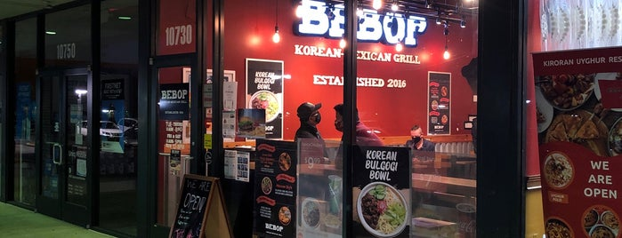 Bebop Korean-Mexican Grill is one of My Favorites in Northern Virginia Area.
