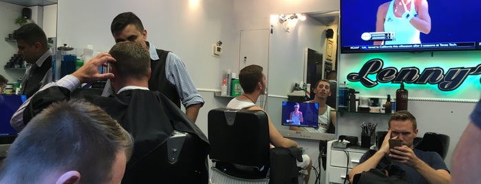 Lenny's Barber Shop is one of Posti che sono piaciuti a Jason.