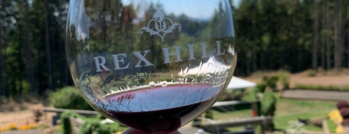 REX HILL Vineyards & Winery is one of Oregon Wine Country.