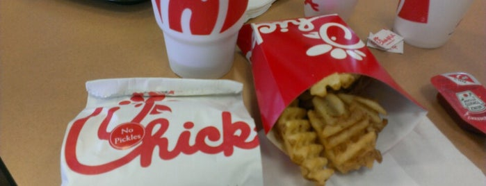 Chick-fil-A is one of Favorite.